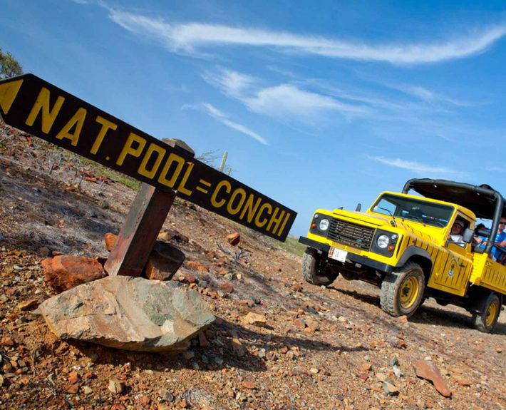 Natural Pool Land Rover Adventure
