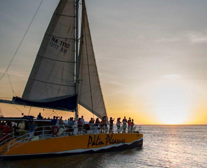 Palm Pleasure's Sunset Sail